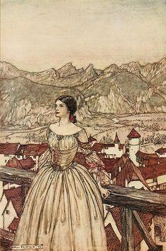 Arthur Rackham -- Fairytale Illustration More
