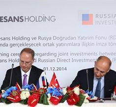 Rönesans Holding'ten Rusya ile 400 milyon dolarlık anlaşma  Rönesans Holding ile Rusya Doğrudan Yatırım Fonu (RDIF) arasında ortak yatırımlara ilişkin 400 milyon dolarlık anlaşma imzalandı.  http://www.propertyturk.net/haberler.ronesans-holdingten-rusya-ile-400-milyon-dolarlik-anlasma.6310.aspx