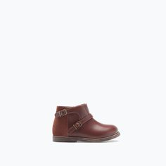 Image 1 of CLASSIC BUCKLED BOOT from Zara