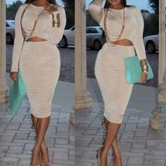 TIMELESS bodycon dress