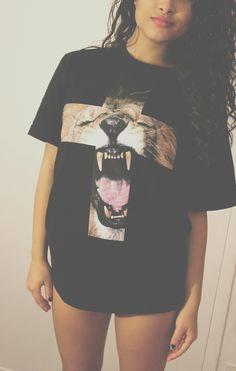 outfitmade:  GET THE LION ROAR TEE HERE→ OR SHOP FULL ANIMAL PRINT COLLECTION HERE→ Shop dope tees at: sweatstore.outfitmade.com