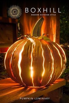 The Great Pumpkin has landed in your yard - and it glows! The Desert Steel Orange Powder Coated Squatty Pumpkin Luminary is festive fall decor at its. Pumpkin Garden, Rustic Outdoor Decor, Lanterns Decor, Types Of Furniture, Cut Out Design, Outdoor Projects, Outdoor Ideas, Vintage Halloween, Rustic Style