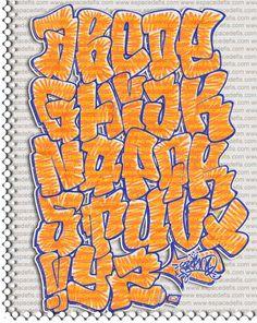 Graffiti Alphabet - Graffiti Letters - Graffiti Art - Wallpaper Graffiti - 3D Graffiti