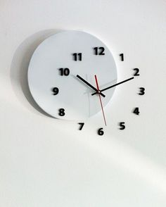 Wall Clock OUT OF TIME Design Ideas