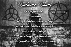 Calming Chant - Shared from We Sisters Three )O(