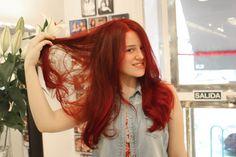 Hacer tinte casero para teñir el cabello de rojo ¡increíble! - Soy Moda Hair Beauty, T Shirts For Women, Long Hair Styles, Pelo Natural, Hairstyles, Tips, Ideas, Art, Fashion