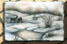 Pattern Packets - Evening in the Foothills Mary Owens Tole Painting, Painting & Drawing, Block Art, Country Paintings, Machine Embroidery Patterns, Glass Blocks, Craft Sale, Watercolor Landscape, Pyrography