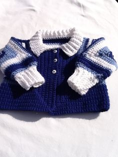 Baby girl or boy sweater by TheNanimalShop on Etsy