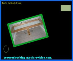 Built In Bench Plans 134033 - Woodworking Plans and Projects!