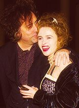"""""""It's really enchanting. It's such a nice life and we have fun. Tim is a great find. I think our sensibilities go well together. He is dynamic and funny, and we are soulmates."""" -Helena Bonham Carter"""