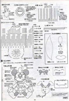 Patrones de Muñecos tejidos en crochet