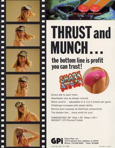 THRUST and MUNCH...