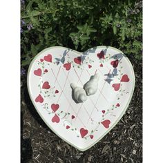 upcycled outdoor decoration (150 ILS) via Polyvore featuring home, outdoors, outdoor decor and bird bath