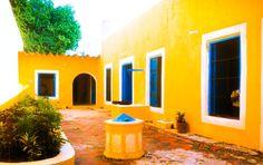 #Aljibe  #Casa #Campeche #Color #Terraza #Colonial