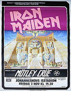 #IronMaiden #MötleyCrüe #1984