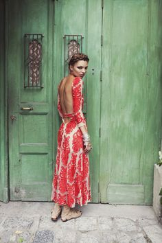 For Love and Lemons San Marcos Midi Red Lace Dress – See Note
