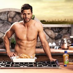Oh hey, ladies. I've been marinating all. Night. Long. #getzesty I wish he'd come cook for me!
