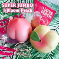 jumbo ibloom peach super jumbo rare ibloom peach squishy