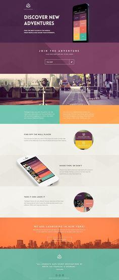 #UI #flat #design #mobile #UX #color