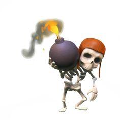 clash of clans skeleton - Google zoeken