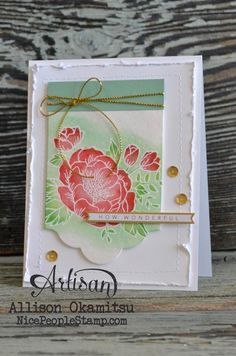 nice people STAMP!: Birthday Blooms: 2016 Occasions Catalogue Blog Hop