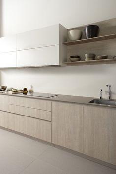 Home Decor Industrial Javier Cabezn - Serie 45 Kitchen Room Design, Kitchen Cabinet Design, Modern Kitchen Design, Home Decor Kitchen, Interior Design Kitchen, Kitchen Furniture, Home Kitchens, Modern Kitchen Cabinets, Island Kitchen