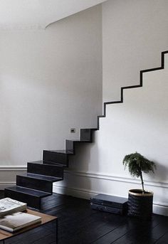 Black & White Stairs