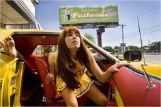 Boulevard de la mort - un film Grindhouse : photo Mary Elizabeth Winstead, Quentin Tarantino