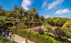 Park Guell in Barcelona, SpainGet ready for summer in the 70s and winter in the 50s, and be sure to buy your tickets online to skip the long lines at Barcelona hotspots such as La Sagrada Família and Parc Güell, a sort of Gaudí theme park that allows only a certain number of people in each day