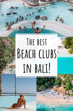 Best beach clubs in Bali! Best Bali beach clubs | Where to party in Bali | Canggu beach club | Uluwatu Bali beach club | Karma Beach club Bali | The Edge Bali resort | One Eighty Bali | Instagrammable places in Bali | Omnia Bali Best things to do in Bali | Things to do In Uluwatu Bali | Things to do in Canggu Bali