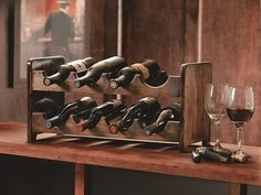 how to build a wine rack. FREE PLANS!