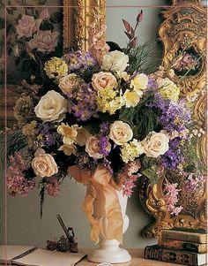 DIY: How to make a reception flower arrangement- From the Garden Wedding