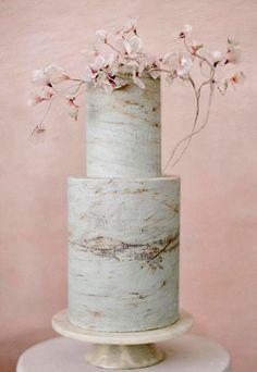 13 Wedding Cake Trends for neutral texture cake with magnolia decor Black Wedding Cakes, Wedding Cakes With Flowers, Beautiful Wedding Cakes, Beautiful Cakes, Purple Wedding, Modern Wedding Cakes, Gold Wedding, Wedding Bells, Wedding Fair