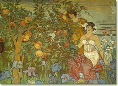 Villa Igiea - Palermo. Paintings byE: DE Maria Von Bergler
