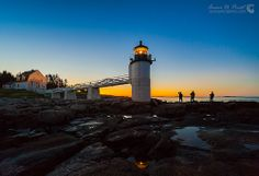 Sunrise at Marshall Point Lighthouse