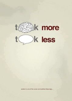 Think more - Talk less. Wisdom is one of the rarest commodities these days  #PictureQuotes, #Wisdom, #Think, #Talk   If you like it ♥Share it♥  with your friends.  View more #quotes on http://quotes-lover.com/