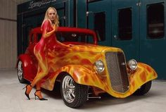 A cool flame paint job can make a car. It can add iceberg level coolness, but it can also make it look like a nine year went crazy with a bag of crayons. Lets have a look at some of the best flame jobs online and maybe a few that didn't make the grade