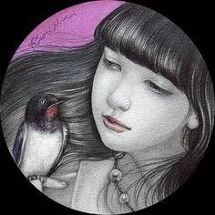 IWR - Art et Culture Archive - belles peintures de femmes, musique, vidéos...Kaori Ogawa - Untitled (2014)