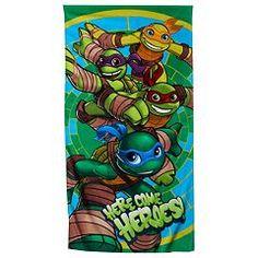 Nickelodeon Teenage Mutant Ninja Turtles Beach Towel