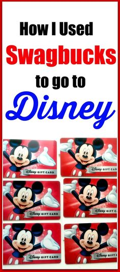 Are you planning a trip to Disney World? If so, here's a way you can earn Disney gift cards to spend at the parks, on your tickets, or your hotel. Click through to read more or pin now and read later. (tips to save money for disney) Disney World Vacation, Disney Vacations, Disney Trips, Vacation Travel, Walt Disney, Disney Travel, Work From Home Moms, Make Money From Home, How To Make Money