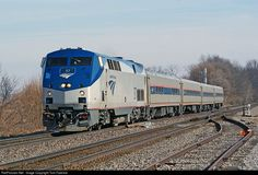 RailPictures.Net Photo: AMTK 37 Amtrak GE P42DC at Buda, Illinois by Tom Farence