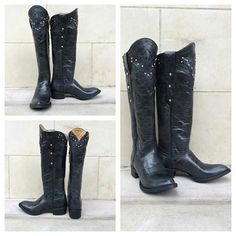 We love this new classy, black riding boot from the Johnny Ringo Sagrada Collection! Style# JRS806-15B.  Southern Thread Austin, TX.