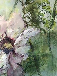 Art Floral, Art Mural Floral, Floral Watercolor, Floral Paintings, Leaf Art, Abstract Flowers, Botanical Art, Painting & Drawing, Flower Art