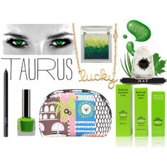 the lucky one by kc-spangler on Polyvore featuring beauty, Sue Devitt, NARS Cosmetics, Beekman 1802, LeSportsac, Sydney Evan, GREEN, lucky and Taurus