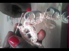 Tapete de Crochê com Lacres de latinha passo a passo parte 1/2 - YouTube