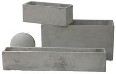 cómo hacer una maceta de cemento