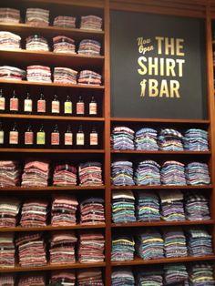 shirt bar        panda-duck:    J. Crew Chicago -PD