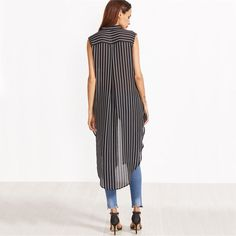 Now selling: Longline Striped Sleeveless Blouse http://luxuryandme.com/products/longline-striped-sleeveless-blouse?utm_campaign=crowdfire&utm_content=crowdfire&utm_medium=social&utm_source=pinterest