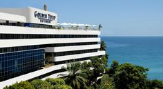 Golden Tulip Salvador (antigo Golden Tulip Rio Vermelho) Salvador A 10-minute drive from Porto da Barra Beach, this hotel offers modern rooms and a large swimming pool with panoramic sea views. Guests can also enjoy the tennis court, sauna and fully-equipped gym.
