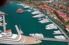 Yacht Haven Grande, St. Thomas, USVI dock, shop, dine, or just stroll.